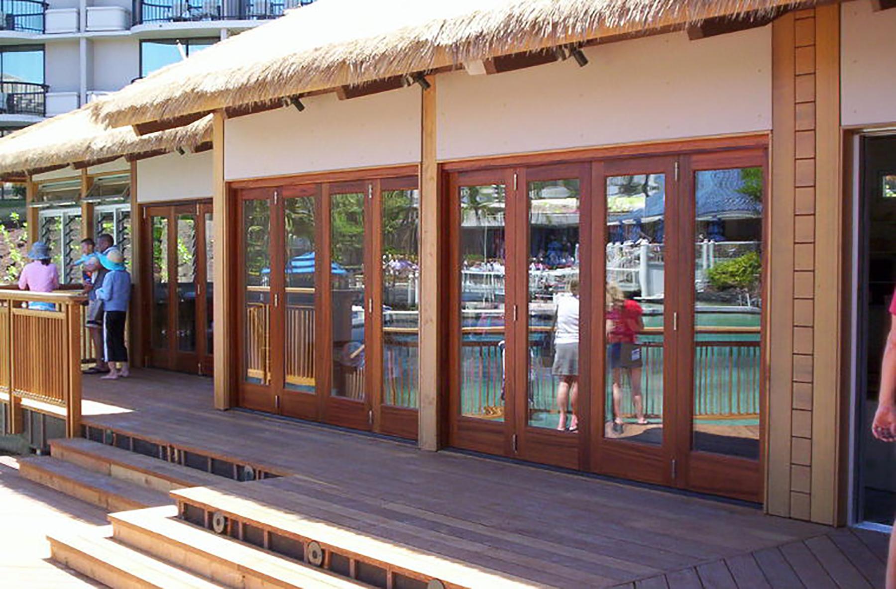 Lanai Doors Sliding Stacking Wood Doors Allservices